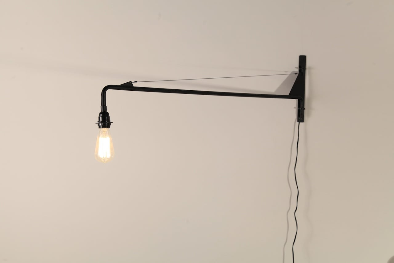 the best attitude 9104c 7bc71 Jean Prouve Wall Lamp (1 meter Arm)