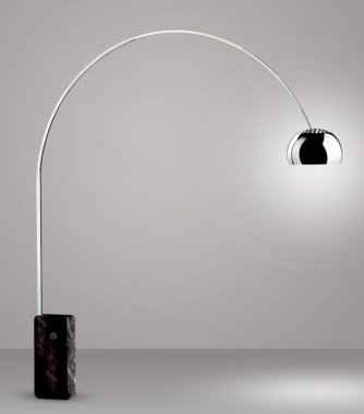 Arco Lamp Homage
