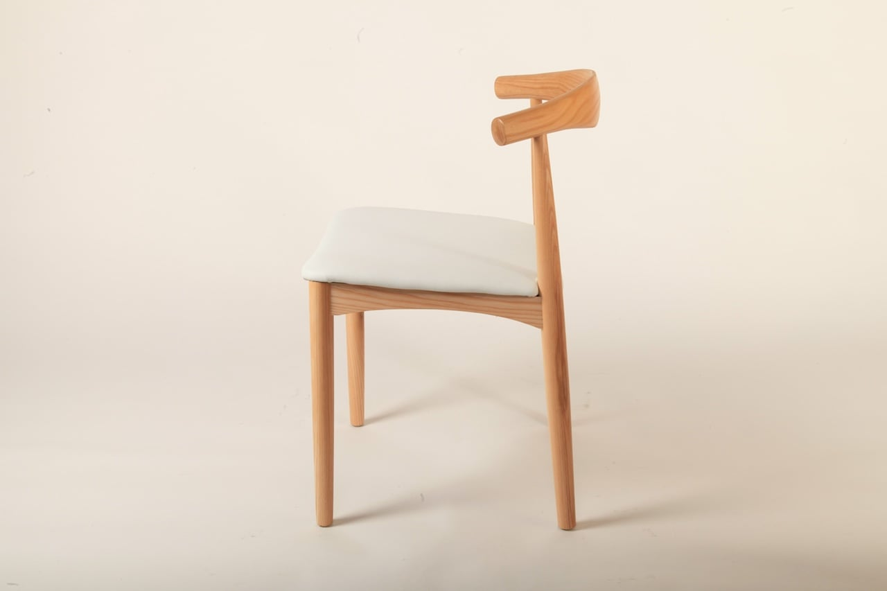 Elbow Chair Square Seat Homage