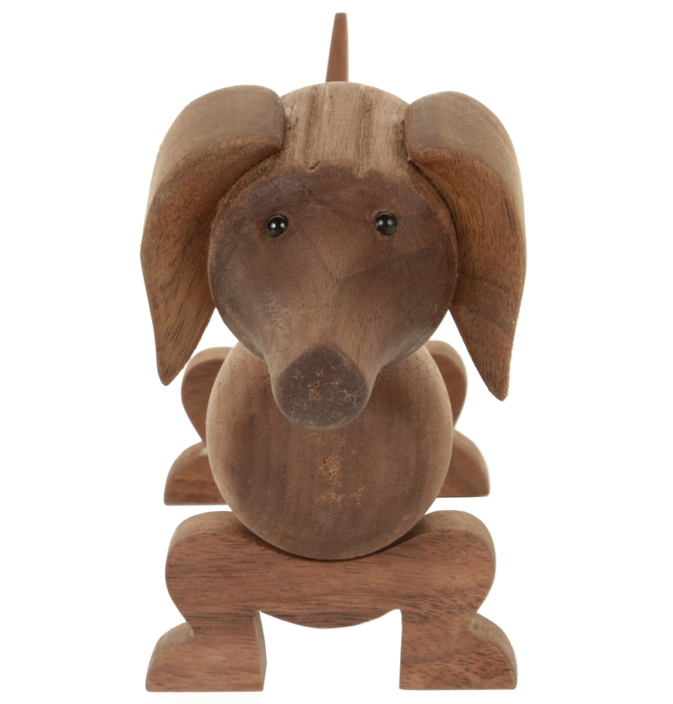 Wooden Sausage Dog Homage