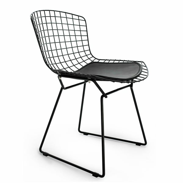 chair mat bertoia obj fbx models furniture side max model dxf knoll cgtrader