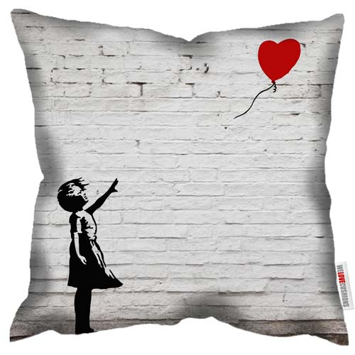 Banksy Cushion Covers Various Styles Homage