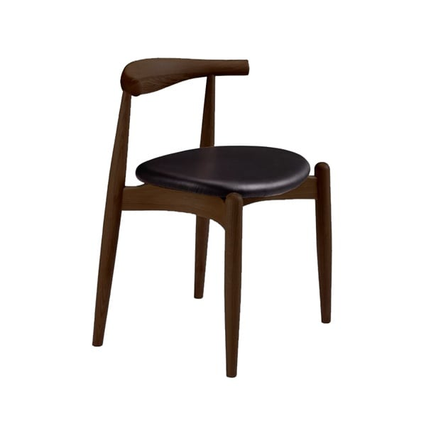 Superbe Elbow Chair   Solid Walnut   Homage